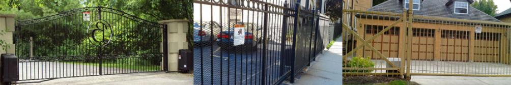 Dual Swing Gate, Sliding Parking Gate with Mesh and Sliding Parking Gate